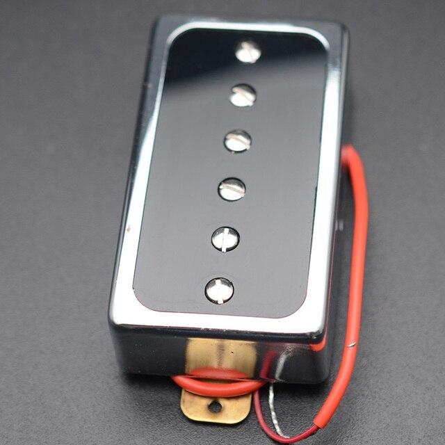 P90 Electric Guitar Pickup Humbucker size Single Coil Pickup Neck Bridge Guitar Parts and Accessories