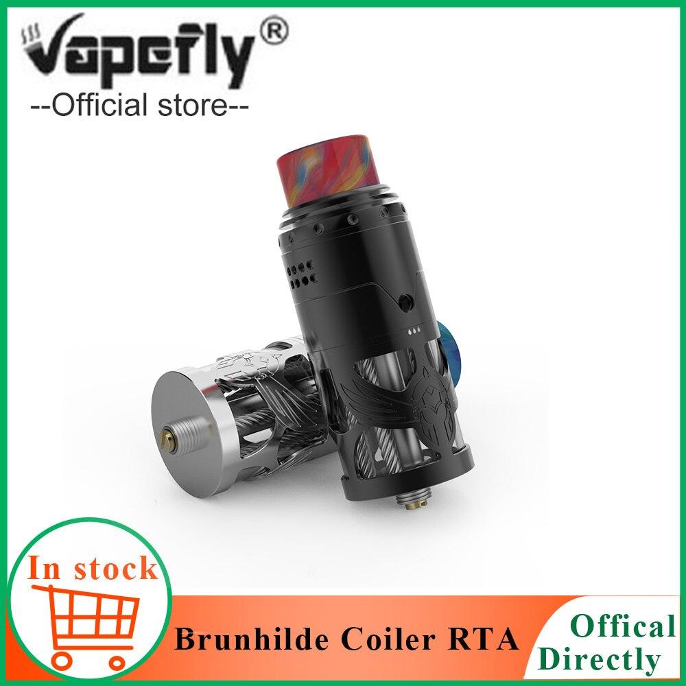 Atomiseur de Cigarette électronique d'origine Vapefly Brunhilde haut enrouleur RTA 2 ML/8 ml haut débit d'air double bobine réservoir fit 510 fil mod