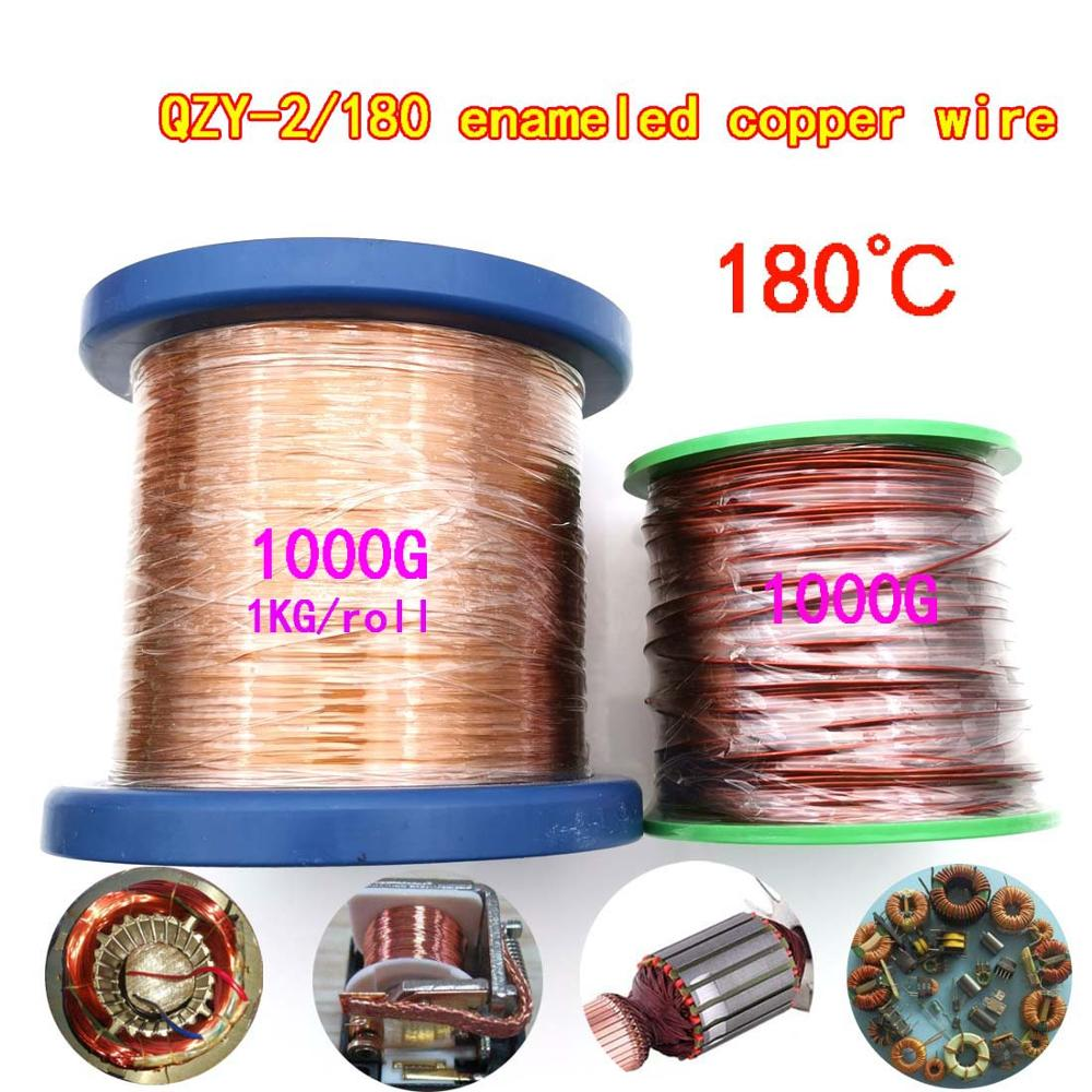 1kg QZY-2-180 High temperature Enamelled copper wire 0.1-2.5mm Motor transformer water pump booster pump Magnetic Coil Winding