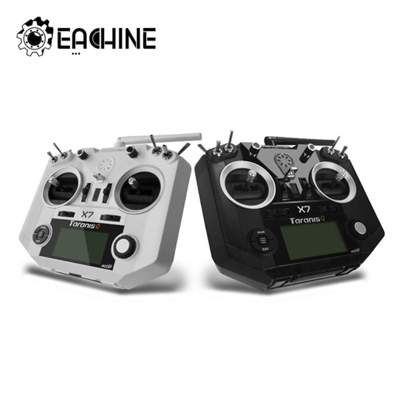 FrSky ACCST Taranis Q X7 2.4G 16CH Mode 2 Transmitter Remote Controller White Black International Version RC Drone Spare Part