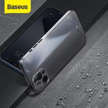 Baseus – coque de téléphone portable en PP mat, étui de Protection Ultra-mince pour iPhone 12 Pro Max 11 Max
