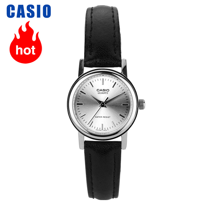 Casio Watch Retro Belt Small Plate Quartz Ladies Student Watch LTP-1095E-7A