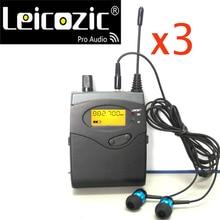 Leicozic 3 pieces BK2050 Receivers SR2050 IEM monitor receivers for monitor systems & in ear monitors professional stage monitor