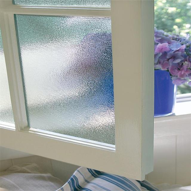 Privacy Window Film No Glue Static Self-adhesive Film Heat Control Anti UV Crystal Pattern Glass Decor Window Stickers 2