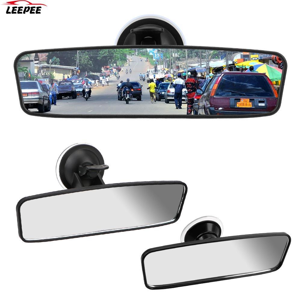Широкоугольное зеркало заднего вида с поворотом на 360 °, универсальное зеркало заднего вида с регулируемой присоской, Автомобильное зеркал...