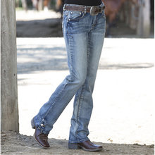 Женские джинсы в стиле Хай стрит Модные свободные дышащие повседневные