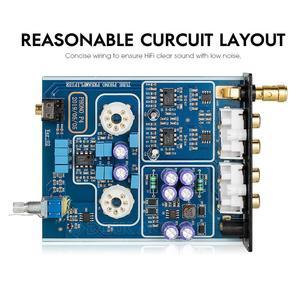 Image 5 - Douk audio Mini HiFi MM Phono Stage Giradischi Preamplificatore Stereo Audio Tubo A Vuoto Preamplificatore