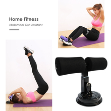 Muscle Training Sit Up Bars Aid Weight Loss Belly Fitness Equipment Strength Home Gym Self-Suction Situp Assist Bar Stand