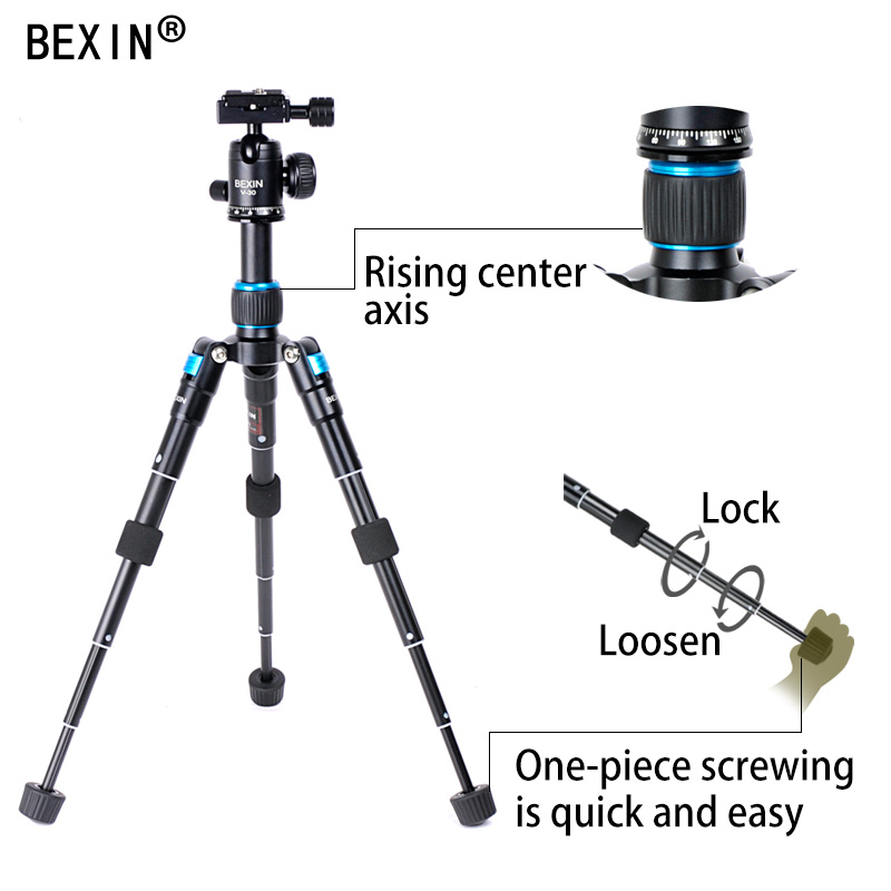 Camera holder mini tripod tripod flexible mount travel tripod mobile phone stand for the dslr camera pnone on the table with 1 4 in Tripods from Consumer Electronics