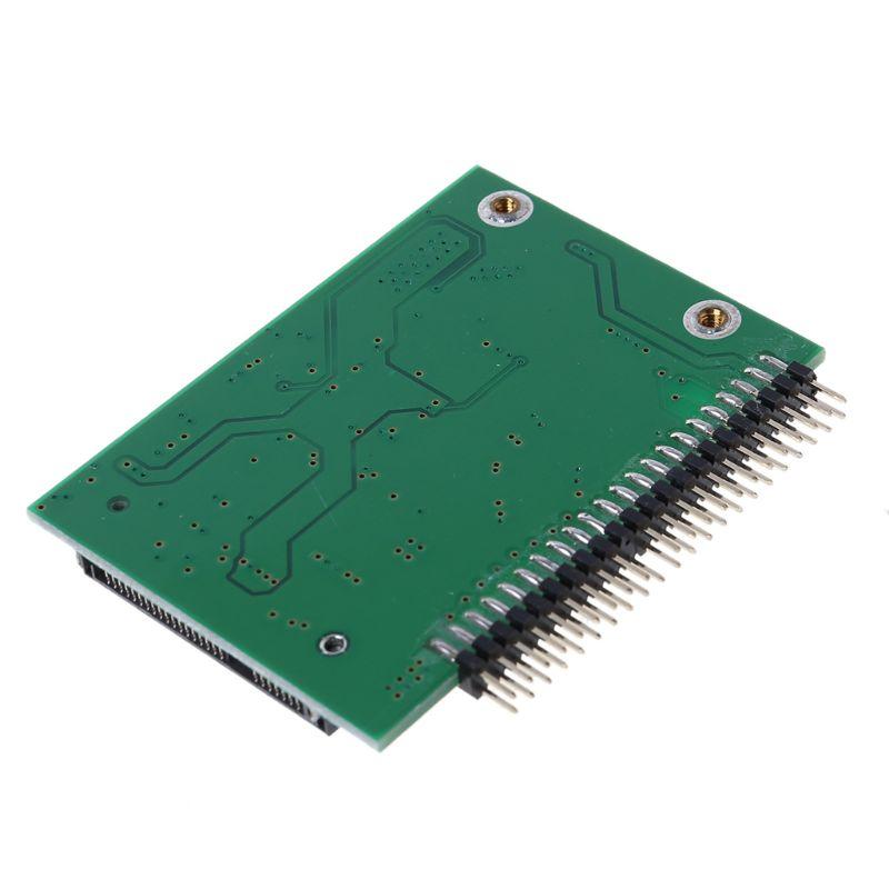 מקרנים ופלאזמות MSATA SSD דיסק קשיח ל 44 מתאם ממיר פין IDE 2.5 אינץ IDE HDD עבור מחשב נייד (3)