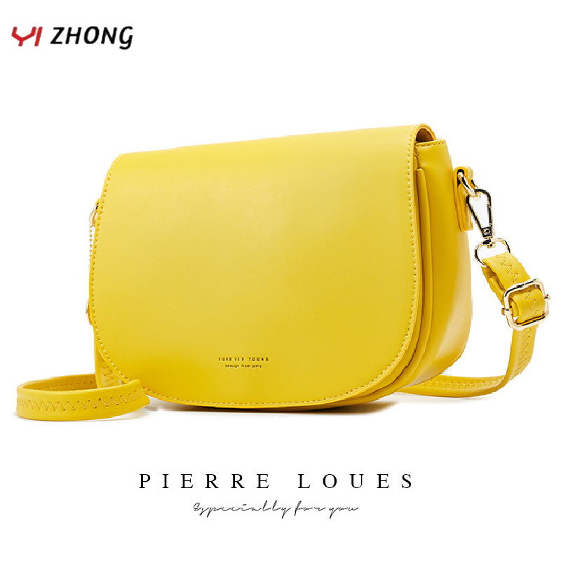 YIZHONG Fashion Leather Shoulder Bag Crossbody Bags For Women Luxury Handbags Women Bags Designer Female Messenger Bag Sac Purse