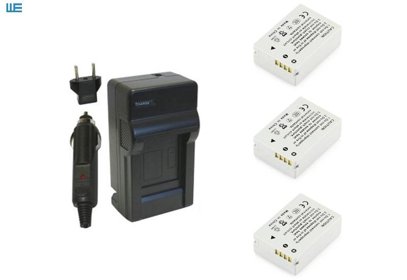 NB-10L, NB10L аккумулятор и зарядное устройство для Canon PowerShot SX60 HS, SX50 HS, SX40 HS, G15, G16, G1 X, G3 X - Цвет: Синий