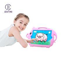 Étui pour iPad 10.2 2019 enfant antichoc tablette couverture de qualité médicale silicone dessin animé cochon étui pour Apple iPad 7 7th 10.2 pouces étui