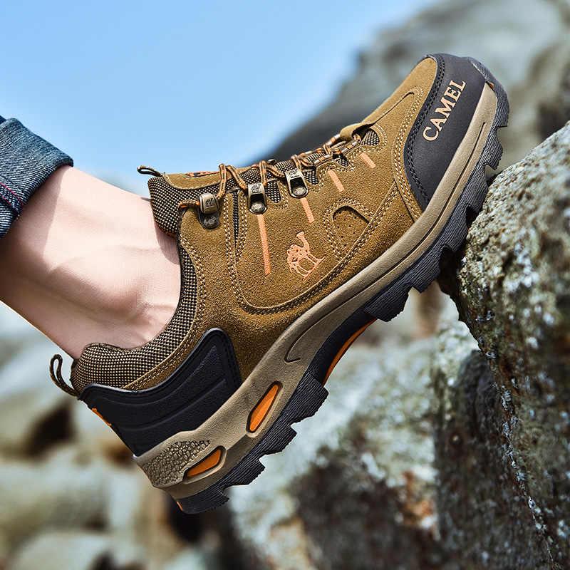 Männer Wandern Schuhe Wasserdichte Schuhe Bergsteigen Schuhe Outdoor Sport Trekking Schuhe Männer Winter Stiefel Botas Tacticas Hombre