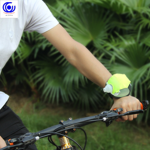 Mini Outdoor Wrist Running Water Bottle Sports Kettle Marathon Riding Fitness Climbing Special Night Drinking Fluorescence 200ml Karachi