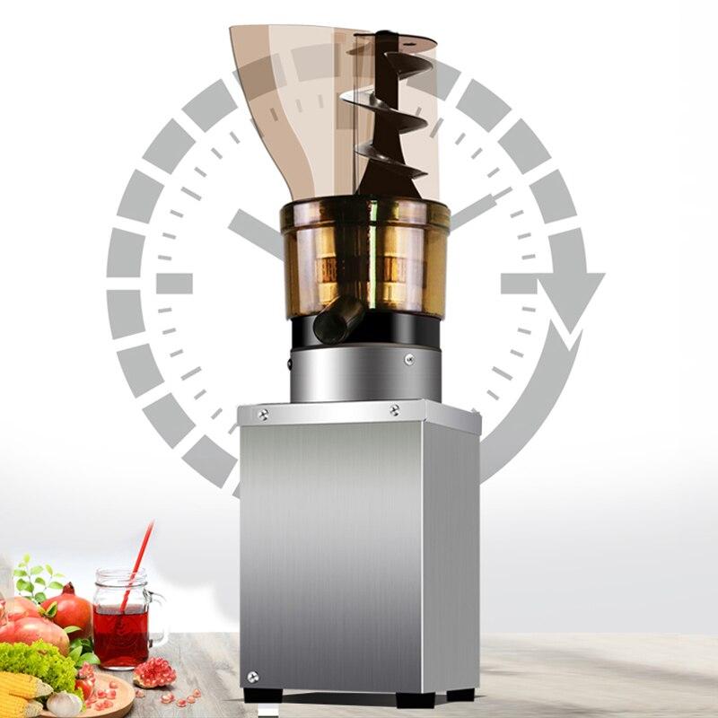 TK-630 Коммерческая автоматическая соковыжималка для фруктов, овощей, соковыжималка без шлака, непрерывная соковыжималка большого размера 110 В/220 В 4