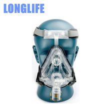 Longlife FM1 CPAP Full Face Mask For All Brands CPAP APAP Auto CPAP BiPAP With Free Headgear Clip SML SIZES CPAP Full Face Mask