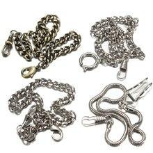 4 типа Бронзовый/Серебряный Винтажный стиль карманные часы цепь карманные часы из сплава цепь для мужчин и женщин Высокое качество Новинка