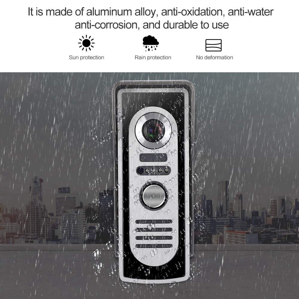 com a prova dwaterproof agua digital campainha 03