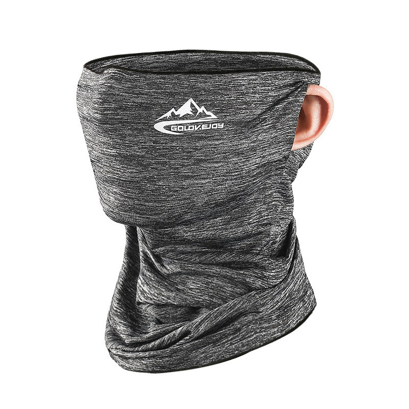 Ice Silk Sunscreen Mask Summer Male Ms. Riding Magic Scarf Multifunction Outdoor Sports Dust-Proof Collar 2