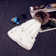Лыжная шапка, переносная, хлопковая, шерстяная, Вязанная, зимняя, теплая, шапочка, наушники, уличная шапка, солнцезащитные козырьки, вязаная, шерстяная шапка