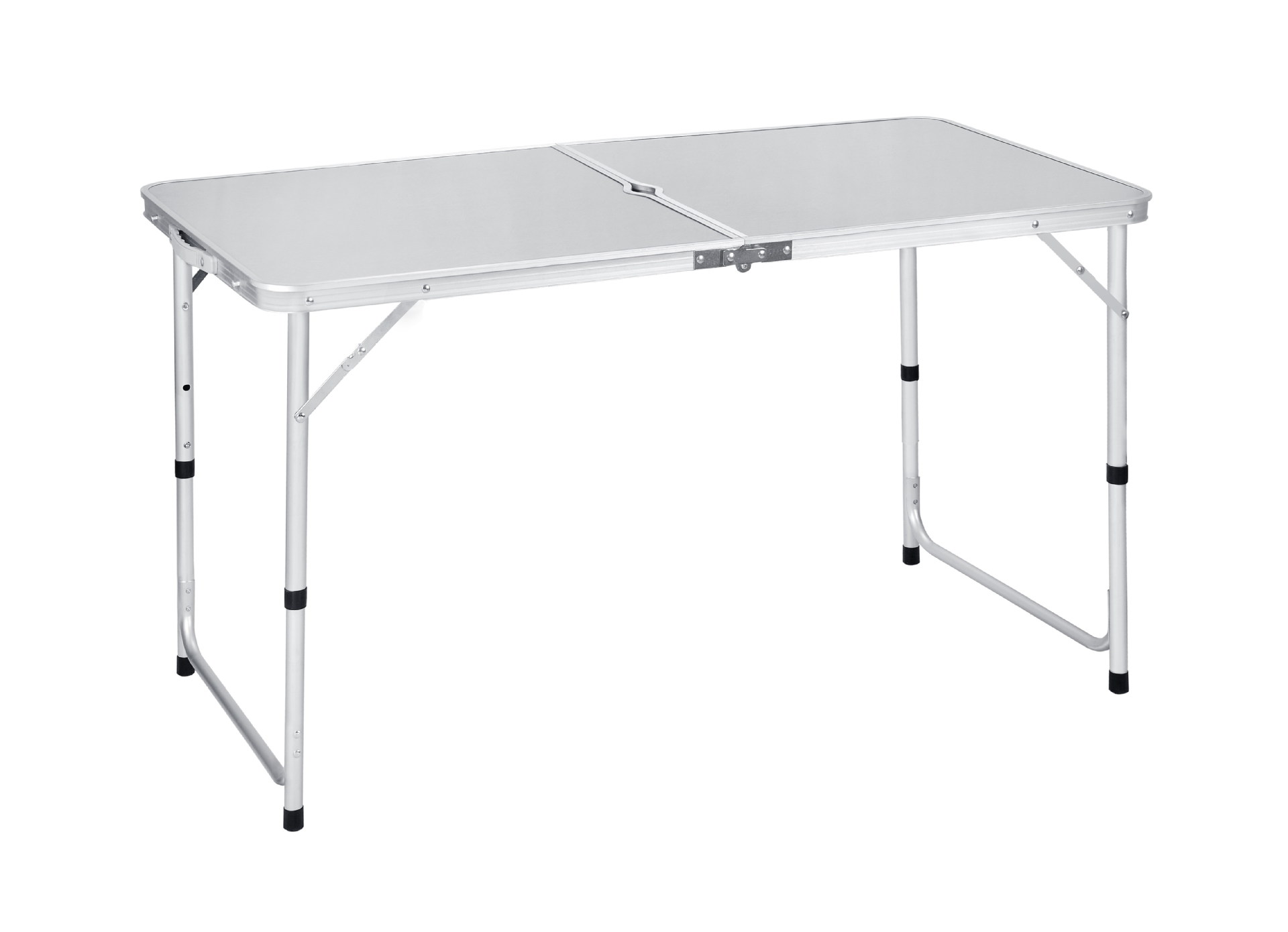 120x60x70cm Aluminum Alloy Portable Foldable Folding Table Desk Outdoor Camping Tables Height Adjustable Portable Picnic Table