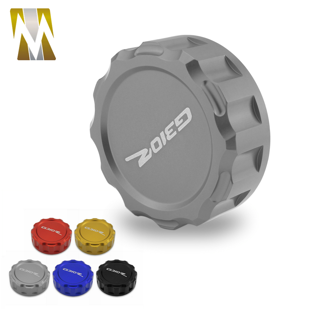 Motorcycle Accessories Rear Brake Fluid Oil Reservoir Cup Cover Parts For Bmw G310r <font><b>G</b></font> <font><b>310</b></font> <font><b>R</b></font> G310 <font><b>R</b></font> for G310R 2017 2018 image