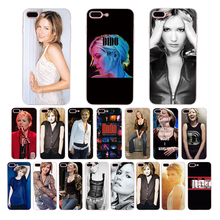 HOUSTMUST singer DIDO photo print soft silicon phone case for iphone x xr 7 8 6s 6 plus xs max 5s 5 se cover high quality shell