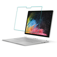 Tempered Glass Screen Protector For Microsoft Surface book 2 13.5inch or 15 inch TAB Tablet Protective Film with package