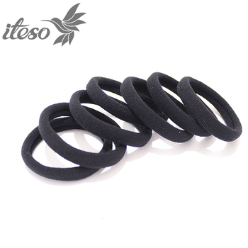 ITESO 10PCS Women Girls Simple Elastic Hair Bands Ties Scrunchie Ponytail Holder Rubber Bands Fashion Headband Hair Accessories 20pcs women simple basic elastic hair bands ties scrunchie ponytail holder rubber bands girls fashion headband hair accessories