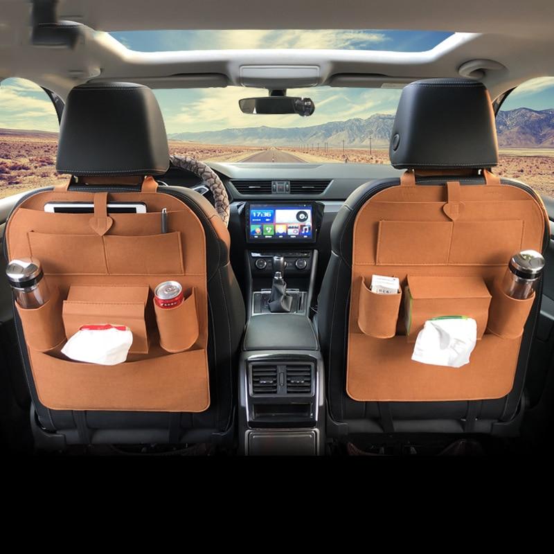 Car Seat Organizer Hanging Bag Car Chair Zhiwu Dai Car Supplies Multi-functional Car Mounted Storage Box