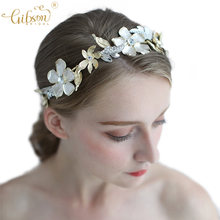 Vintage Bridal Hair Accessories Tiara Women Hair Band Jewelry Baroque Crown Headband For Wedding(China)