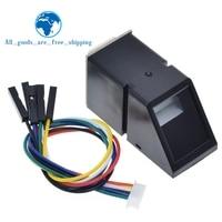 AS608 Fingerprint Reader Sensor Modul Optische Fingerprint Fingerprint Modul Für Arduino Schlösser Serielle Kommunikation Interface