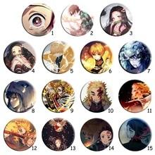 Clothing Slayer-Blade Demon Anime Enamel-Pins Jewelry-Accessories Badge-Yan New for Women/men