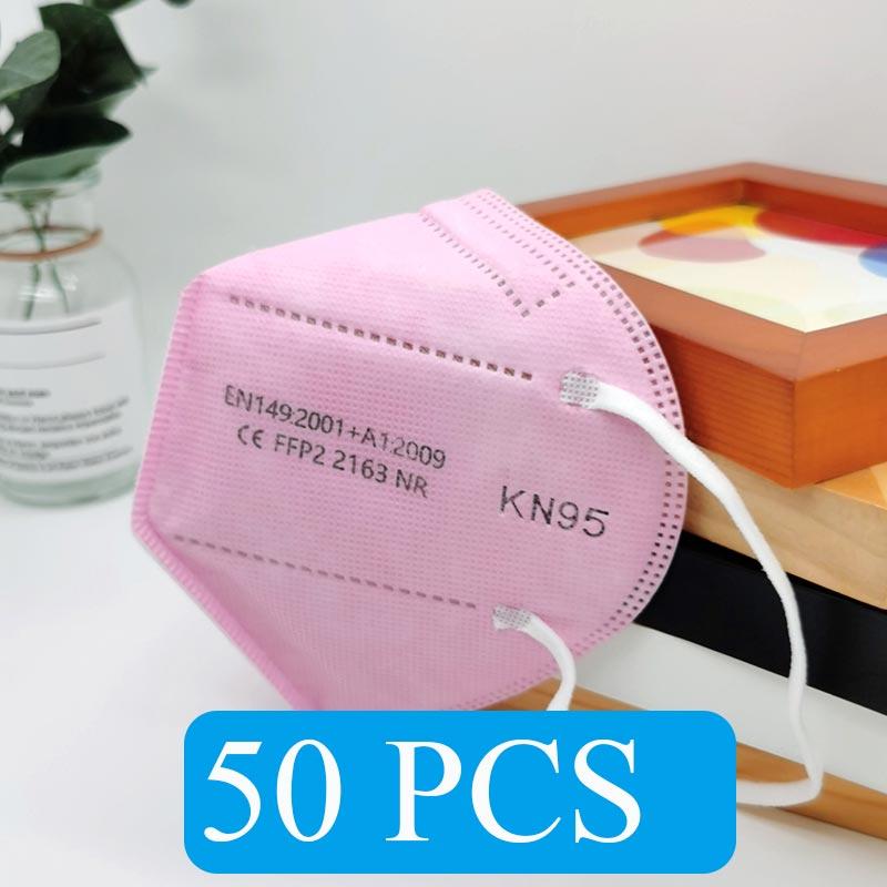Pink 50 PCS