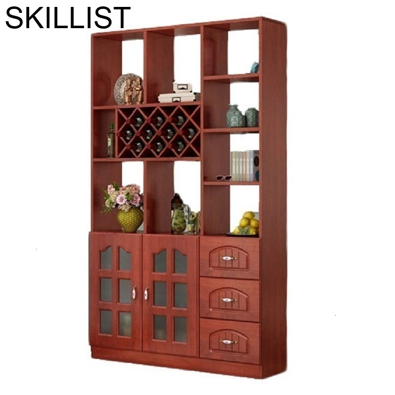 Armoire Sala Cristaleira Meja Mueble Kast Display Mobilya Mesa Table Meube Desk Commercial Shelf Bar Furniture Wine Cabinet
