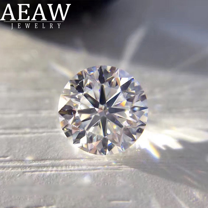 1ct 6.3 To 6.5mm F 3EX Round HPHT Real Diamond Lab Grown Diamon Lab Grown Diamond With Certificated