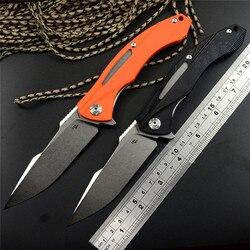 Nowa kieszeń noże CH3519 D2 Stonewashed Blade G10 uchwyt łożysko kulkowe Flipper składane noże 3 kolory na zewnątrz Camping EDC