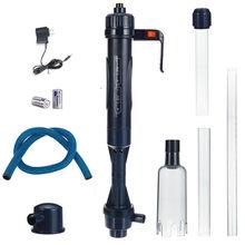 Aquário elétrico automático sifão, limpador de cascalho, bomba de água, para tanque de peixes, acessórios para animais de estimação