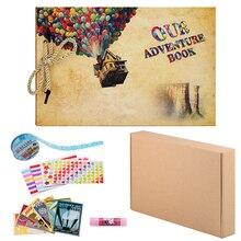 DIY Photo Album Scrapbook Book For Baby Wedding Family Traveling Photo Album Birthday Gift 80 Side Memory Album