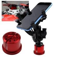 Soporte de teléfono para DUCATI 899 959 1199 1299 PANIGALE V4 1100, accesorios de motocicleta, soporte de navegación GPS, cargador USB