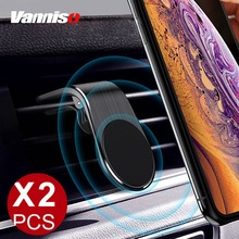 Vanniso Magnetic Car Phone Holder Stand For iPhone 11 XS Max X Samsung