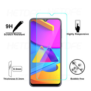 Image 3 - Screen Protector Protective Glass for Samsung Galaxy A10 A20 A30 A40 A50 A70 M10 M30 S Camera Lens Glass On Galaxy A20E A01 Core