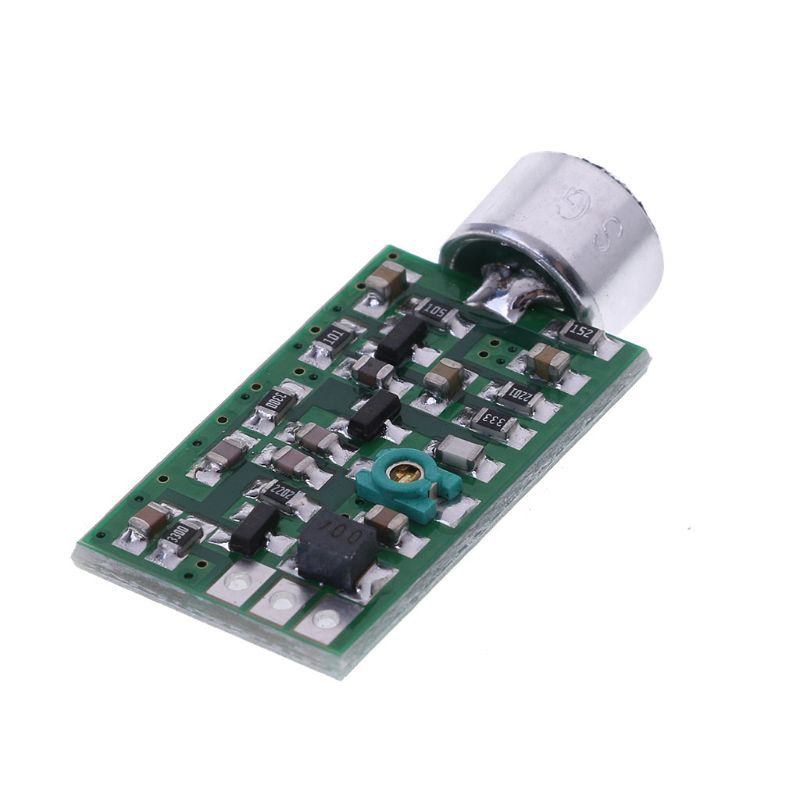 Transmitter Module 88MHZ-108MHZ 0.7-9V Mini Bug Wiretap Dictagraph Interceptor MIC V4.0 Core Board Mini Free Shipping