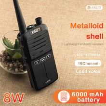 2PCS Handheld Walkie Talkie 8วัตต์UHFแบบใช้มือถือวิทยุCommunicator HF Transceiverมือสมัครเล่น