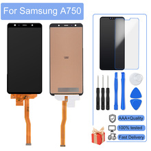 Perfect Repair AAA+++ Incell LCD For Samsung Galaxy A7 2018 A750F/FN/G LCD Display Touch Screen Digitizer Assembly No Dead Pixel
