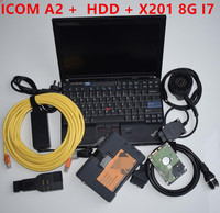 Super forBMW ICOM A2 with Laptop X201 With Latest software 2020.5 Engineers Version supports for BM W All Series Diagnose Tool