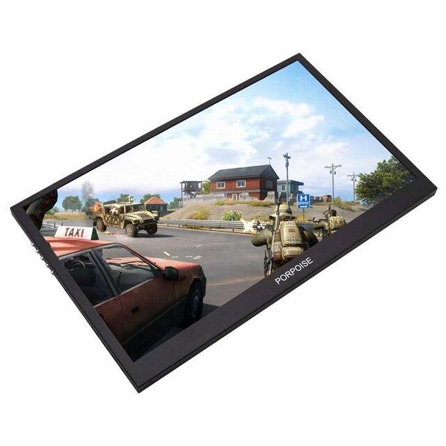 17,3 inch Spiel Tragbare Bildschirm 1920x1080 HDR IPS 144Hz NTSC 72% Display Typ C für Ps4 Xbox NS Schalter USB Monitor