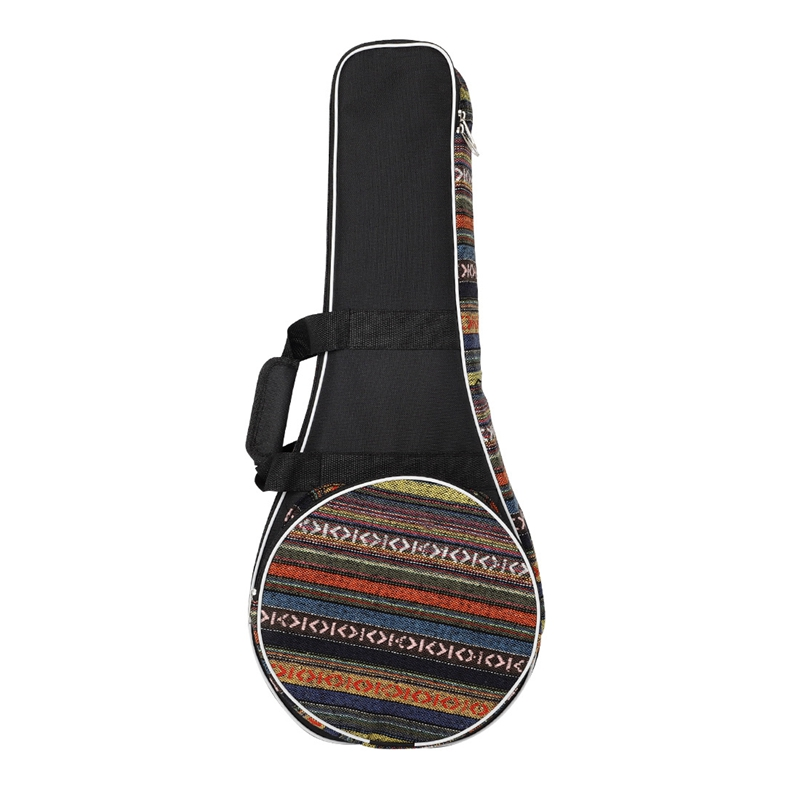National Wind Mandolin Plus Cotton Thick Shoulder Bag Universal Mandolin Oxford Cloth Bag Musical Instrument Accessories