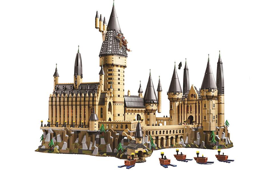 16052 фильм главный Дамблдор наборы Модели Строительные блоки 926 шт кирпичи замок зал Волшебные школьные игрушки подарок для детей 75954 - 3